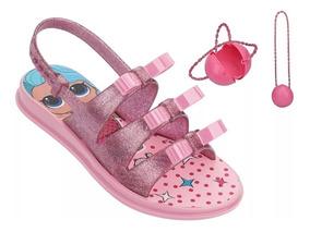 Sandália Infantil Lol Bag 21836 - Grendene Kids Rosa
