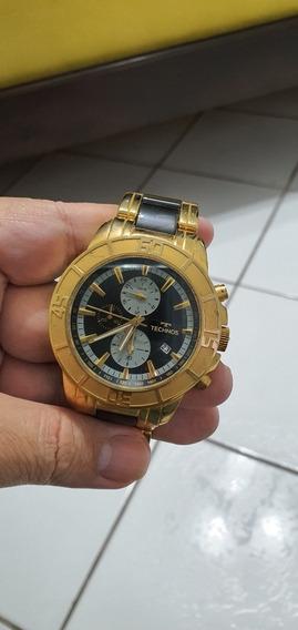Relógio Technos Cerâmica Vidro De Safira