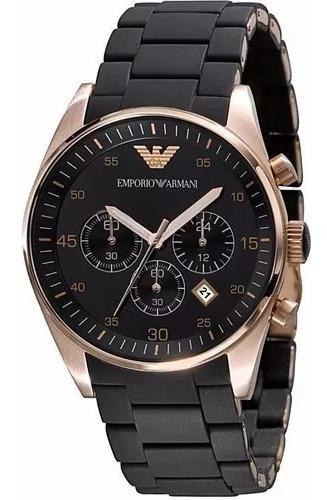 Relógio Pa3003 Emporio Armani Ar5905 Masculino Preto Rose
