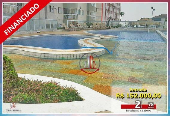Apartamento Com 2 Dormitórios À Venda, 78 M² Por R$ 380.000,00 - Aviação - Praia Grande/sp - Ap1662