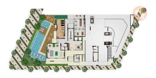 Apartamento À Venda, 75 M² Por R$ 363.625,93 - Vila Atlântica - Mongaguá/sp - Ap4344
