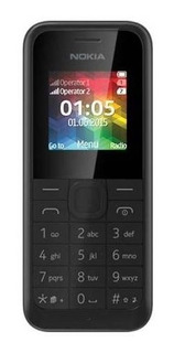 Telefono Basico Nokia Modelo 105 Negros Liberados.