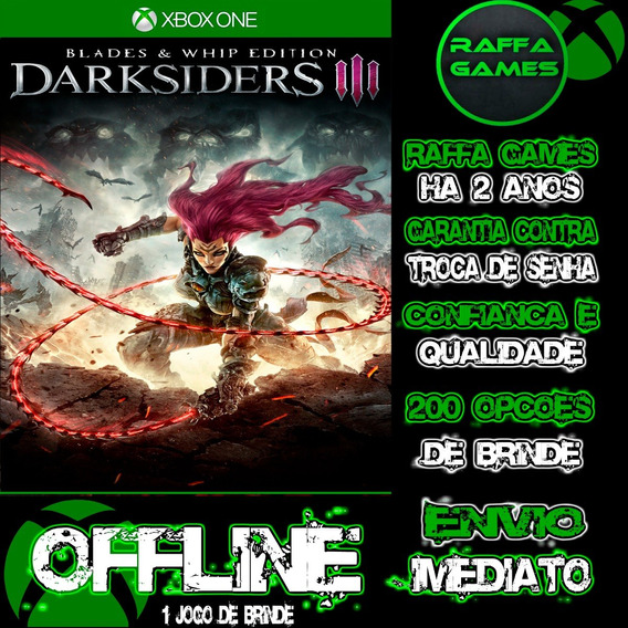 Darksiders 3 Blades & Whip Edition Xbox One Offline + Brinde
