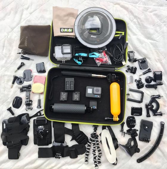 Câmera Digital Gopro Hero 6 + Assessórios
