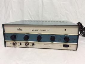 - Amplificador Delta Mono 30 Watts Rms Excelente Qualidade