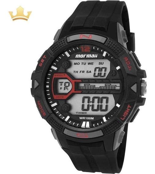 Relógio Mormaii Masculino Mo5000/8r Com Nf