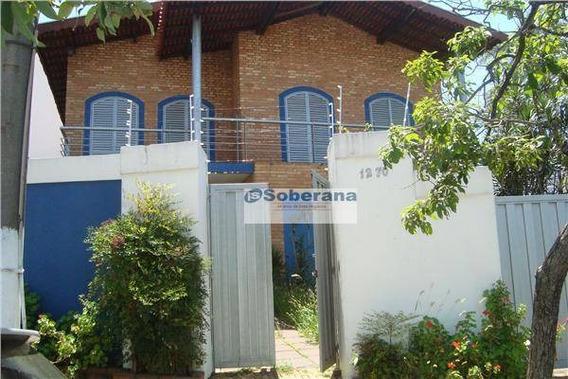 Casa Comercial Para Locação, Jardim Guarani, Campinas - Ca0317. - Ca0317