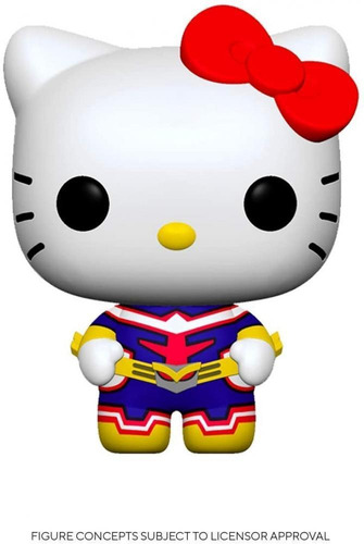 Funko Pop Sanrio My Hero Academia Hello Kitty All Might