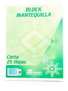 Block Mantequilla Carta 25h Nessan