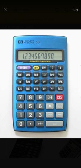 Calculadora Científica Heweltt Packard Hp 6s