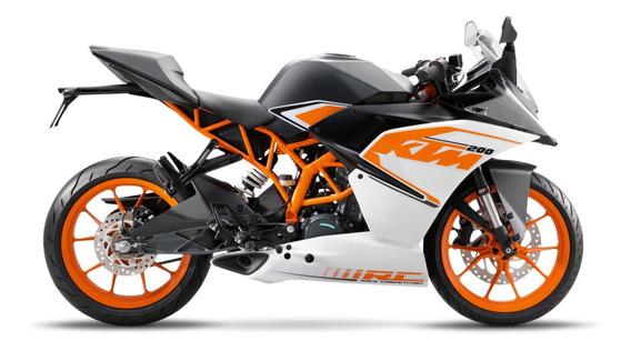 Ktm Rc 200 Moto 0km Urquiza Motos Naked Calle Street