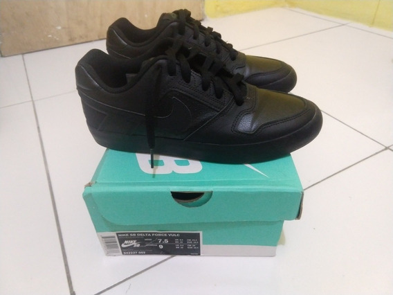 Tênis Nike Sb Delta Force VulcMasculino - Preto