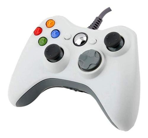 Control Xbox 360 Joystick Mando Pc Notebook Calidad Cableado
