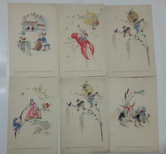 Antiguas Cartas Menus Vapor Cap Norte Año 1935