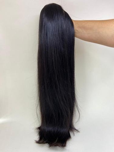 Imagem 1 de 4 de Mega Hair Humano 75cm 100gr Leve Ondas