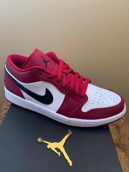 Air Jordan 1 Low Noble Red