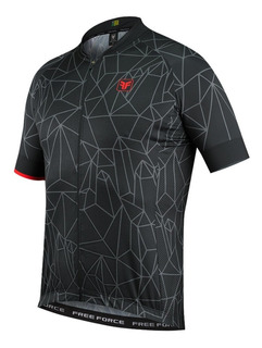 Camisa Ciclismo Sport Chaotic Masculina Free Force