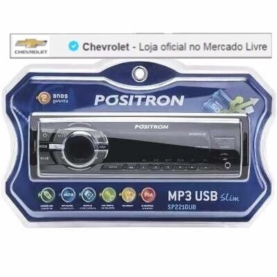 Rádio Positron Sp2210 Ub Usb Sd Mp3 Player Fm 98550659