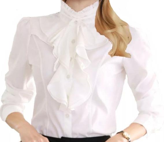 Blusa Camisa Feminina Social Foto Real Importada