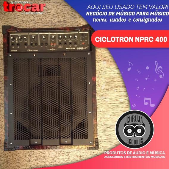Amplificador Cicloton Wattsom Nprc 400 Super Personalizada