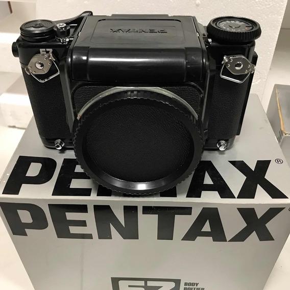 Pentax 67 Excelente Só O Corpo Com Visor Prismático.