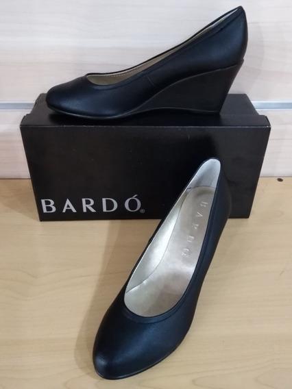 Zapatos Bardo Damas Negro Y Marron
