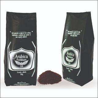 2,5kg Café Em Pó 100% Arábica Sul De Minas Premium Moído