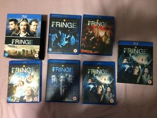 Fringe Blu-ray Box Temporadas 1-2-3-4-5 Série Completa