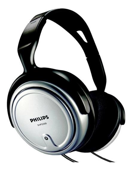 Fone De Ouvido Philips Shp2500/10 Para Tv 6m De Fio + Nfe