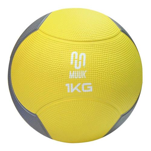Balon Medicinal Muuk Con Rebote 1kg