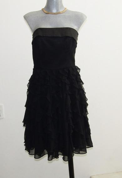 Vestido Negro Fiesta /coctel Talla 0