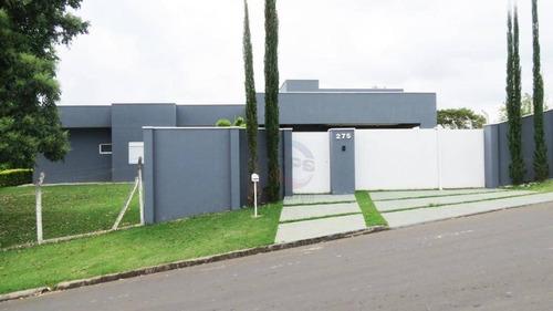 Chácara Com 3 Dormitórios À Venda, 1750 M² Por R$ 1.404.540,00 - Terras De Itaici - Indaiatuba/sp - Ch0577