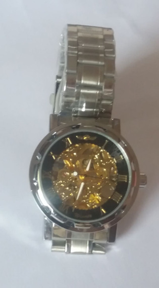 Relógio Masculino Automático Esqueleto