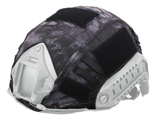 Imagen 1 de 6 de Cubre Casco Cobertor Emerson Militar Forro Paintball Airsoft