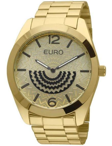 Relógio Feminino Euro Fan Eu2034an/4d Barato Original