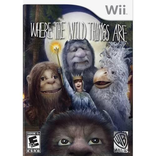 Jogo Onde Vivem Os Monstros Do Nintendo Wii Lacrado Nacional