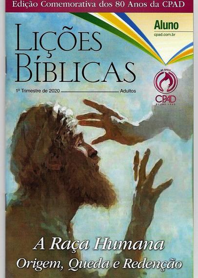 Revistas Lições Bíblicas Adulto Kit Com 4 Alunos