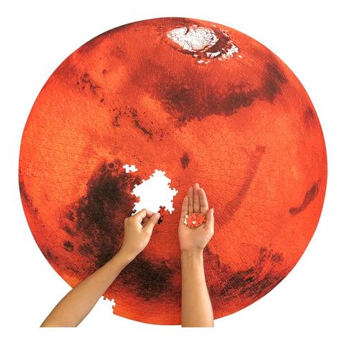 Imagen 1 de 7 de Rompecabezas De 1000 Piezas Sobre El Paisaje De Marte