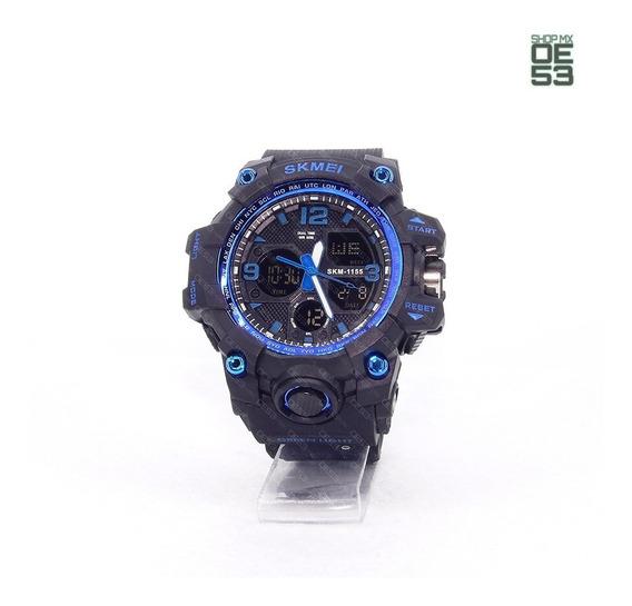 Oe53 Reloj Deportivo Tactico Resistente Al Agua Cronometro Skmei 1155b 50m