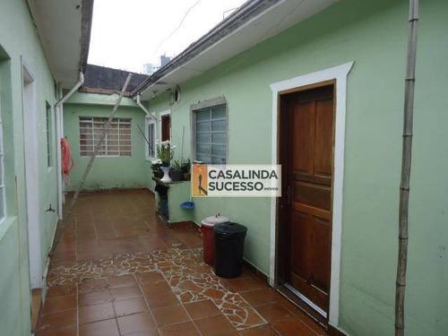 3 Casas 280m² 1 E 2 Dormts. 6 Vagas Próx. À Rua Lutécia - Ca6074 - Ca6074