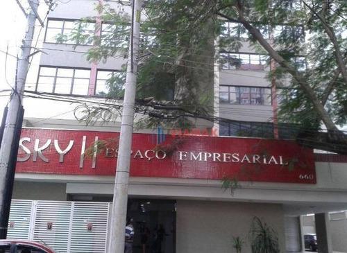 Imagem 1 de 2 de Sala Comercial Para Venda E Locação, Centro, São José Dos Campos. - Sa0179