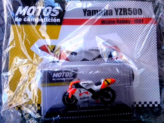 Colección Motos De Competición N°4 Yamaha Rainey