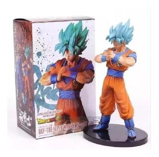 Figura Muñeco Goku Super Saiyajin Blue Dfx Banpresto