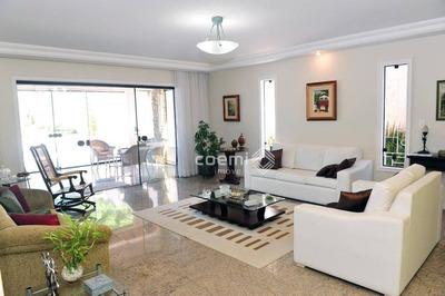 Casa Com 4 Dormitórios À Venda, Bem Localizada, Piscina, 350m² - Ca0108