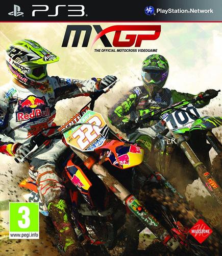 Mxgp Motocross Juego Digital Ps3