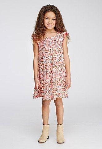 Vestido Forever 21 Importado Niña Talle 11/12 - 6390