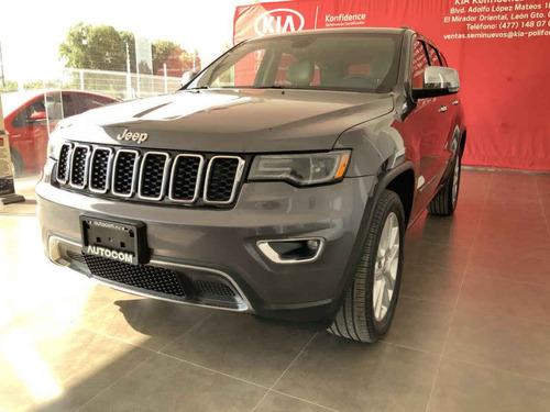 Imagen 1 de 12 de Jeep Grand Cherokee 2017 5p Limited Lujo 4x4 V8/5.7 Aut
