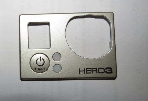 Faceplate Hero 3 Black Gopro Frente Carcaça Tampa Go Pro 4k