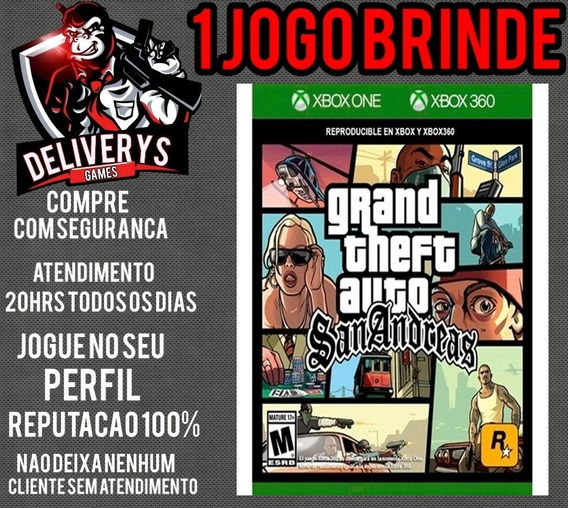Gta San Andreas Xbox One Midia Digital