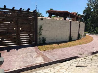 Linda Casa Nova, 03 Dormitórios, Em Itanhaém-sp